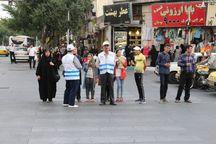 ۱۵۰ داوطلب در گره گشایی ترافیک شیراز همکاری دارند