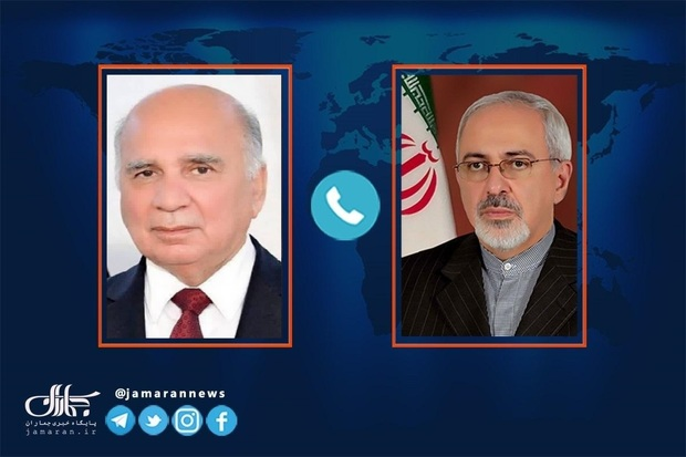 گفت و گوی تلفنی ظریف و وزیر خارجه عراق در پی تعرض به کنسولگری ایران در کربلا