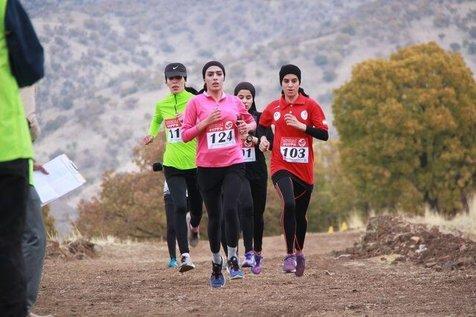 قهرمانی تهران در دوی صحرانوردی بانوان کشور