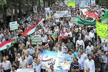 مسیرهای راهپیمایی روز قدس در آذربایجان غربی اعلام شد