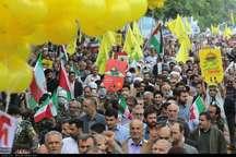 مسیرهای چهارگانه راهپیمایی روز جهانی قدس در رشت اعلام شد