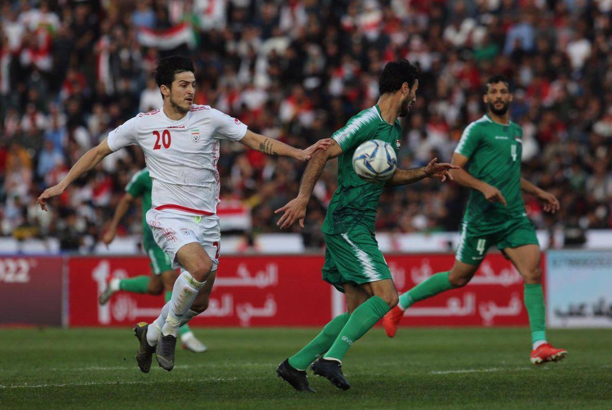 ساعت دیدار تیم ملی ایران و عراق مشخص شد