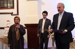 جشن میلاد حضرت زهرا(س) و امام خمینی در لندن
