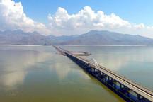 وسعت دریاچه ارومیه 820 کیلومترمربع افزایش یافت