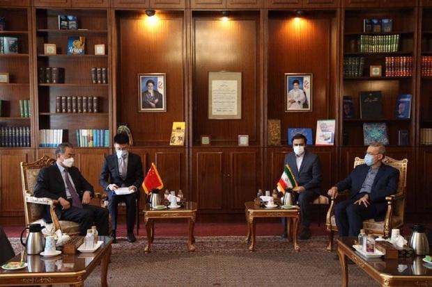برنامه جامع همکاریهای ایران و چین نهایی شد/ لاریجانی: ایران مستقلا در مورد روابطش با کشورها تصمیم میگیرد