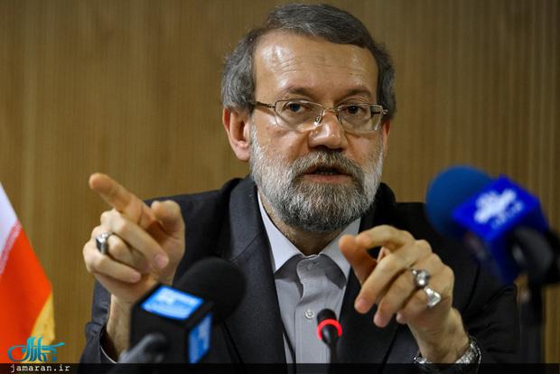 اعلام نظر لاریجانی در مورد روابط تهران و واشنگتن: به انتخاب آمریکا بستگی دارد