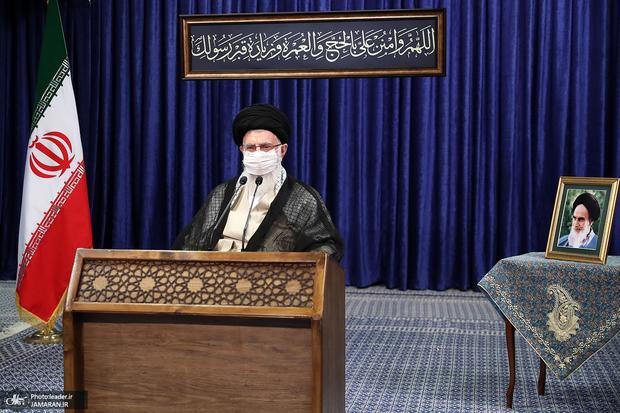 پوشش زنده سخنرانی رهبر معظم انقلاب توسط شبکه های تلویزیونی عراق