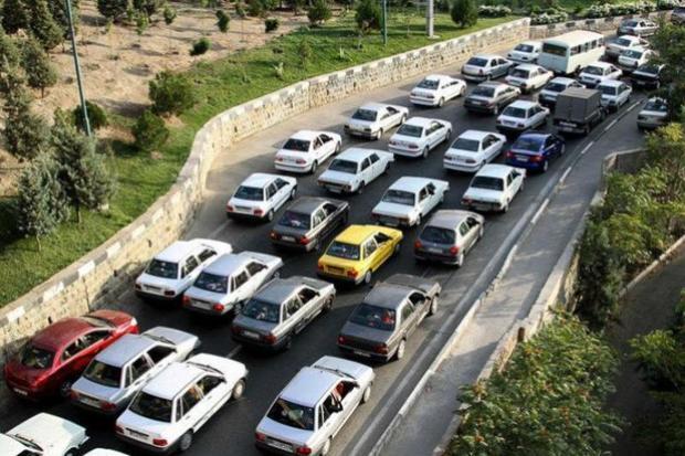 قفل ترافیک پایان تابستان بر جاده های خروجی مازندران