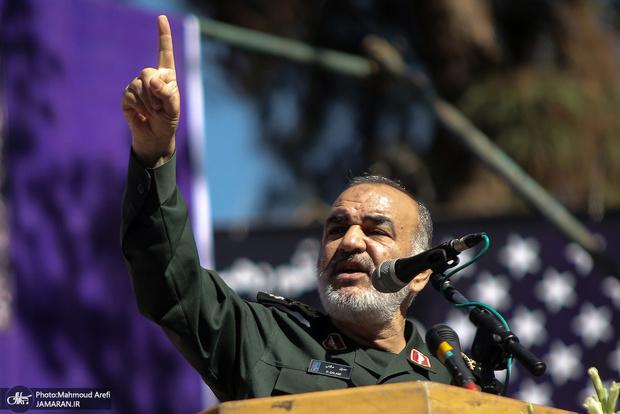 سرلشکر سلامی: جنگ نظامی از مخیله دشمن خارج شد