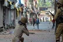 تصاویر/ ادامه ناآرامی ها در کشمیر