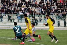 تیم فوتبال 90 ارومیه مقابل ملوان بندر انزلی شکست خورد