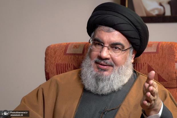 سیدحسن نصرالله: نخستین کشتی حامل سوخت ایران، وارد سوریه شد/ آمریکا برای انتقال سوخت ایران تهدید کرد