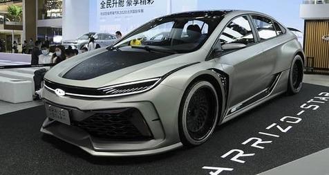 رونمایی از چری آریزو استار در نمایشگاه خودرو پکن ۲۰۲۰
