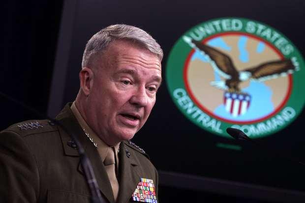 فرمانده نیروهای آمریکا در منطقه: ایران میخواهد ما را از عراق بیرون کند