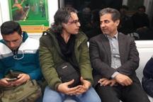 شهرداری که با مترو سر کار می رود