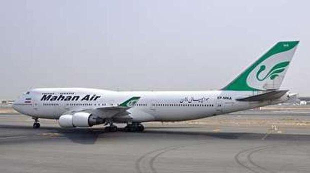 پرواز تهران - دنیزلی در تبریز نشست