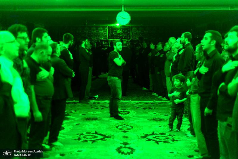 عزاداری شب تاسوعای حسینی(ع) در دارالزهرا(س)