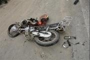 راکب موتورسیکلت قربانی بیاحتیاطی راننده خودرو سواری شد