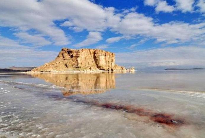 حال این روزهای دریاچه ارومیه به روایت تصاویر