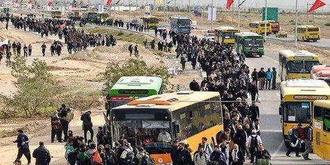 برخورد با متخلفان نرخ کرایه در مرز مهران / نرخ پارکینگها اعلام شد
