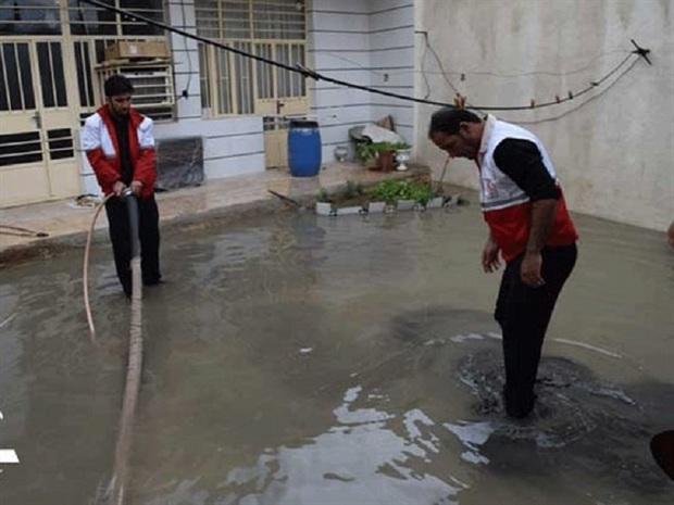 10منزل روستایی در سبزوار دچار آبگرفتگی شد