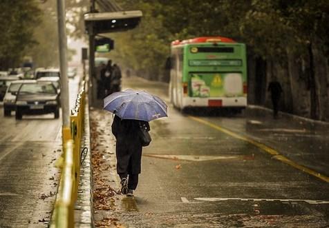 بارشهای پراکنده در برخی استان ها
