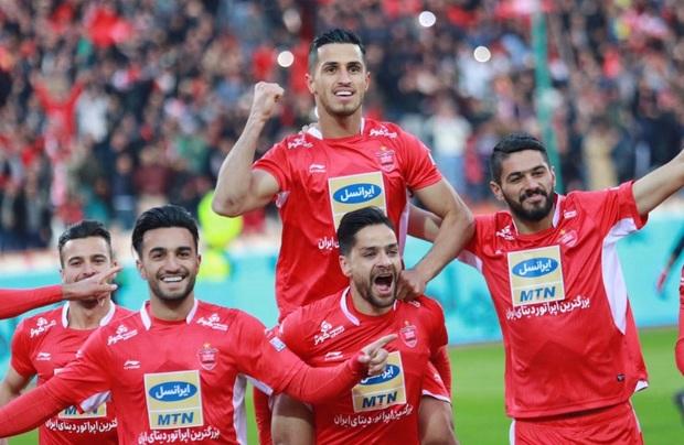 پرسپولیس به سومین قهرمانی متوالی خود در لیگ برتر دست یافت