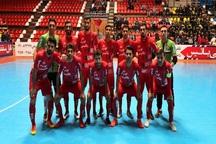 تیم فوتسال گیتی پسند اصفهان سوهان محمد قم را شکست داد