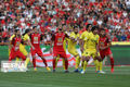 تیم فوتبال نفت مسجدسلیمان مقابل پرسپولیس متوقف شد