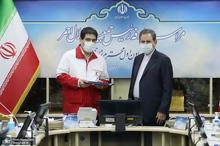 مراسم معارفه رییس جدید جمعیت هلال احمر ایران