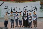 مراسم بزرگداشت یوم الله 15خرداد در مدرسه فیضیه قم