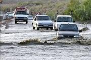 بارش شدید باران باعث مسدود شدن محور فاریاب به کهنوج شد