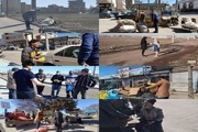 پک بهداشتی رایگان در محلات محروم اردبیل توزیع شد
