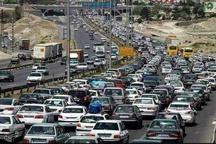 ترافیک سنگین در سه محور مواصلاتی استان البرز