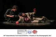 """راهیابی عکاس اردبیلی به نمایشگاه بینالمللی """"تئاتر در هنر عکاسی"""""""