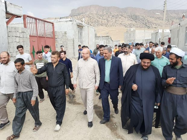 ۸۰ واحد مسکونی در شهرستان زلزله زده سرپل ذهاب به بهره برداری رسید