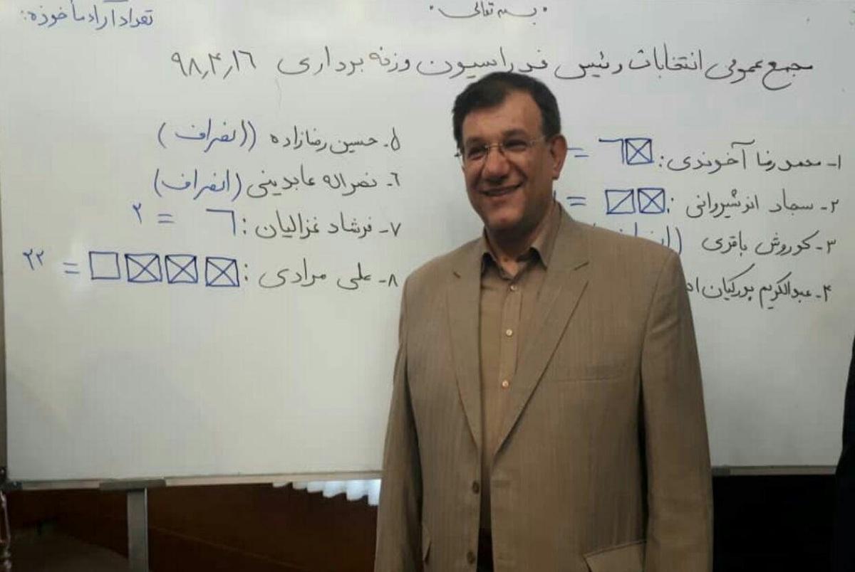 مخالفان علی مرادی در مسیر ابطال انتخابات فدراسیون وزنه برداری بعد از دو سال!