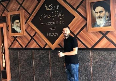 مدافع کرواتی مدنظر استقلال در تهران+ عکس