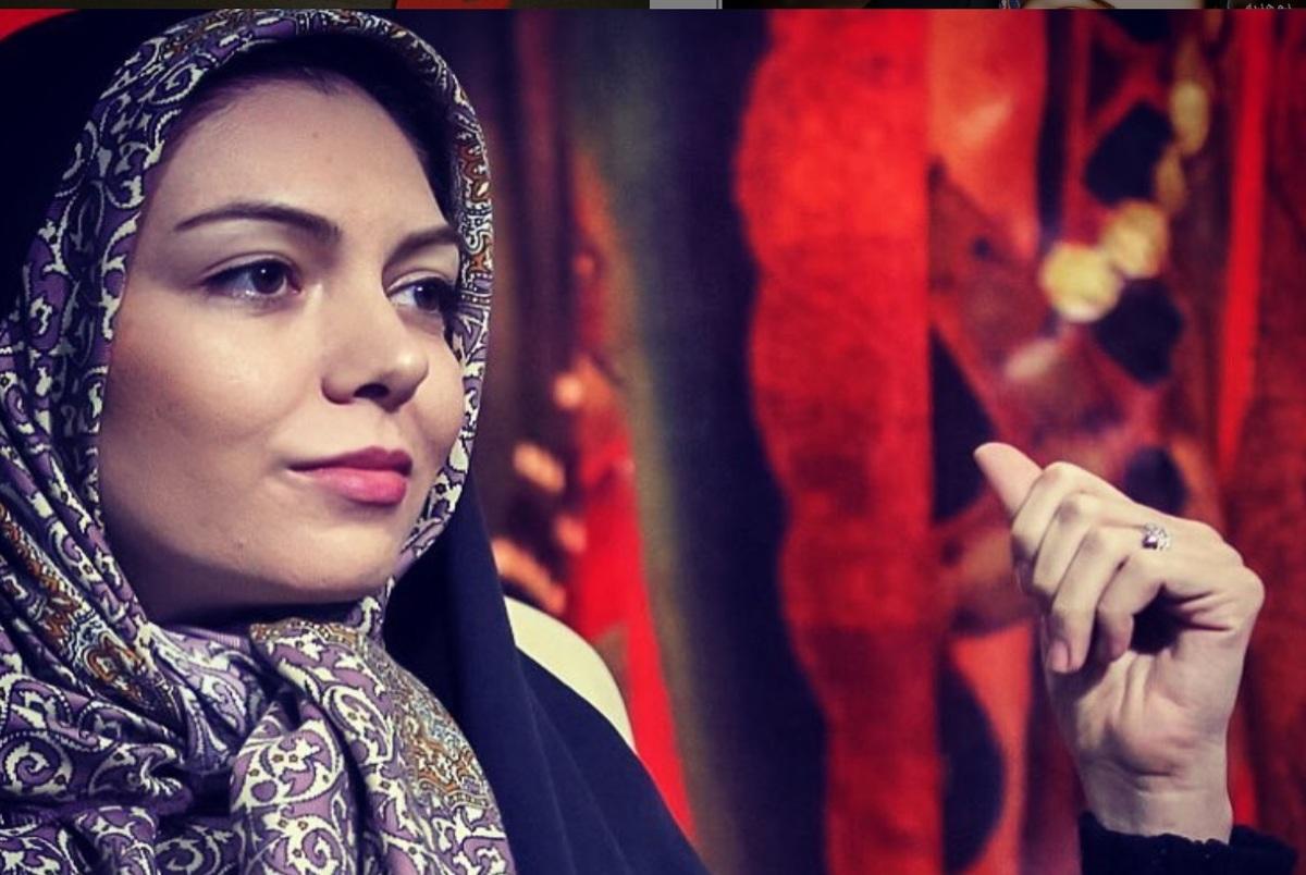 حرف های دردناک همسر آزاده نامداری در مراسم چهلم +ویدیو