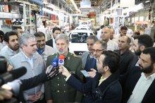 وزیر دفاع: تمامی خودروهای نیمهکاره با همکاری صنایع دفاع از پارکینگها ترخیص شد