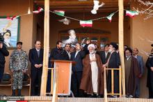 آیین نواختن زنگ انقلاب در بیت تاریخی حضرت امام(س) در خمین