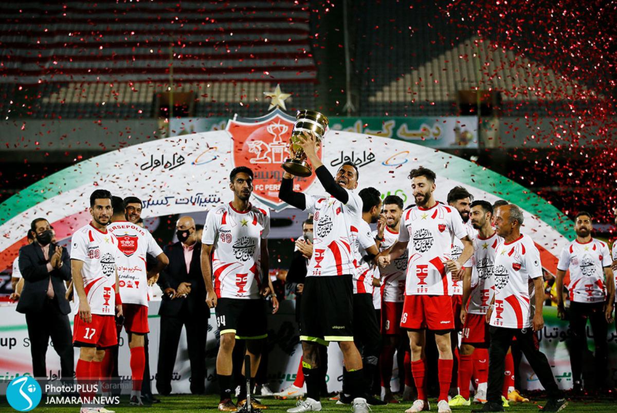 گزارش تصویری از مراسم جشن قهرمانی پرسپولیس در سوپرجام