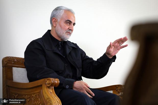 نامه منتشر نشده شهید سلیمانی به فرمانده یک پایگاه مقاومت بسیج