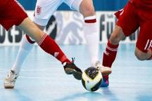تیم فوتسال صبای یزد در مقابل دانش ورزش فریمان متوقف شد