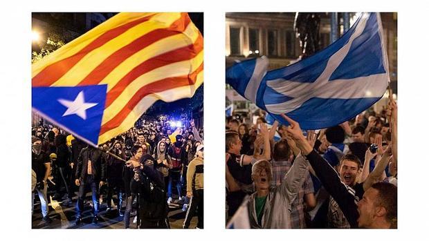 سرنوشت استقلال اسکاتلند و کاتالونیا در سال جدید
