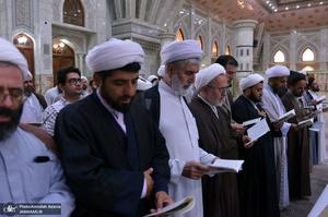 تجدید میثاق جمعی از ائمه جماعات مساجد قم با آرمان های حضرت امام خمینی(س)