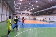 رقابت های فوتسال «جام رمضان» در خاش درحال برگزاری است