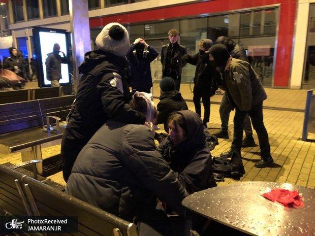 ادامه موج اعتراضات، سرکوب ها و بازداشت ها در انگلیس+ تصاویر