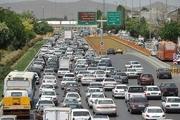 ترافیک سنگین در تمامی محورهای اصلی تهران
