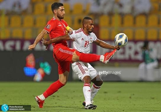 علیرضا جهانبخش تیم ملی فوتبال ایران امارات انتخابی جام جهانی